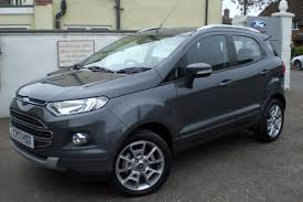 used ford ecosport ecosport titanium 1 0t 125ps 1k miles for