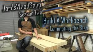 Plans For Building A Wood Workbench by 202 Build A Solid Workbench On A Budget Split Top Roubo Part