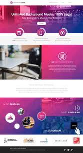 website homepage design background music systems fresh new website silkstream