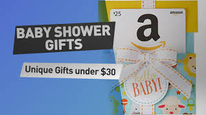 Unique Gifts by Baby Shower Gifts Unique Gifts Ideas Under 30 Youtube