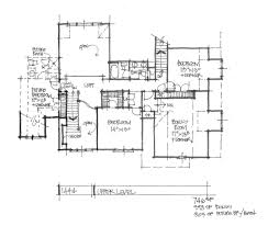 conceptual house design 1444 two story houseplansblog