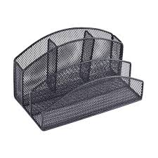 Office Depot Desk Organizers by Buddy Products 5 Compartment Mesh Desk Organizer Zd020 4 The