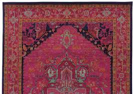 Stylerug by Pink Moroccan Style Rug Woodwaves