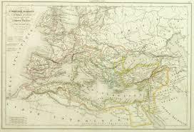 Uc Map Roman Empire Map 1845