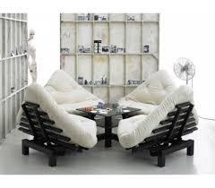 futon canap lit canape lit lotus futon beige the déco