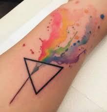 best 25 prism tattoo ideas on pinterest geometric triangle