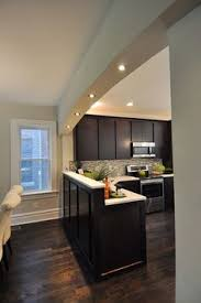 Dark Floor Kitchen by Luna Pearl And Espresso Cabinets With Dark Hardwood U2026 Pinteres U2026