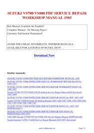 100 repair manual suzuki lt50 engine rebuild questions page