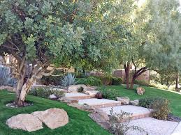 Artificial Landscape Rocks by Synthetic Grass Red Rock Arizona Dog Run Small Backyard Ideas