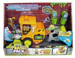 christmas toy trash pack street sweeper