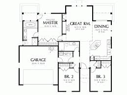 3 bedroom ranch house plans three bedroom house plans for narrow lots beautiful cottage small