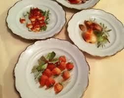 schumann cuisine schumann arzberg bavaria cottage roze chintz salad plates set