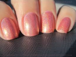 sparkly vernis opi day at the peach is the perfect peach nail polish