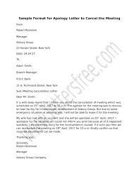 Sample Letter Of Intent For Job Opening by Frame A Formal Meeting Cancellation Notice Use The Format Sample
