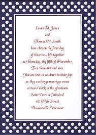 polka dot wedding invitations navy blue and white polka dot wedding invitation with fuchsia