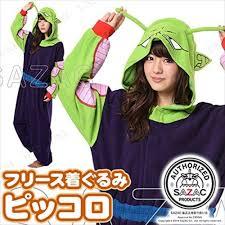 Dragon Ball Halloween Costumes Sazac Dragon Ball Piccolo Fleece Kigurumi Cosplay Costume Party