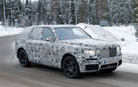 rolls royce project cullinan rolls royce u0027s first ever suv will arrive early next year