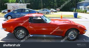 Mathews Va June 01chevy Corvette Stingray Stock Photo 140739979