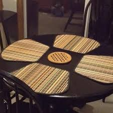 placemats for round table perfect shaped placemats for a small round table from bed bath and
