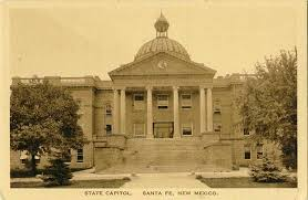 New Mexico State House Penny Postcards From Santa Fe County New Mexico