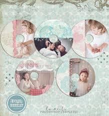 cd dvd labels photoshop templates cd label 2 instant download