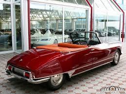 vintage citroen ds citroen ds 19 cabrio convertible auto salon singen