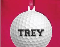 golf ornament etsy