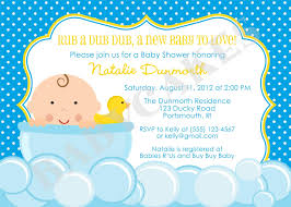 Invitation Cards For Baby Shower Duck Baby Shower Invitations Kawaiitheo Com
