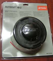genuine stihl autocut 40 2 mowing head 2 7mm line amazon co uk