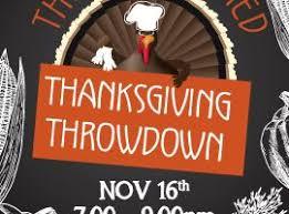 thanksgiving throw rowayton gardeners