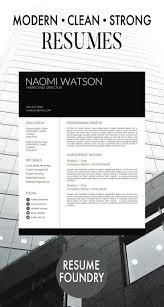 Professional Cv Template 124 Best Professional Cv Template Images On Pinterest Resume