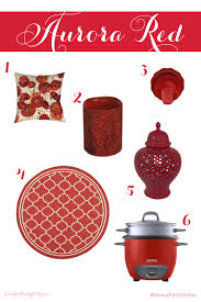 Red Home Decor Color Inspiration Aurora Red Grace Faith And Glitter