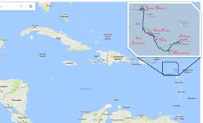 Map Of Caribbean Sea Islands by The Islands That Brush The Clouds U2013 Our Life Aquatic