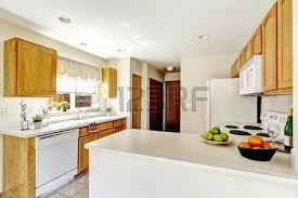 simple kitchen island white kitchen island with wood cabinets simple kitchen interior in