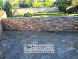 Quarzite Prezzi by 91 Pietra Naturale Donatello Pavimento Maspe Rivestimento