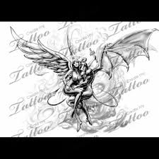 and evil tattoo designs