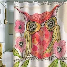 Owl Shower Curtains 25 Best Owl Shower Curtain And Accessories Images On Pinterest