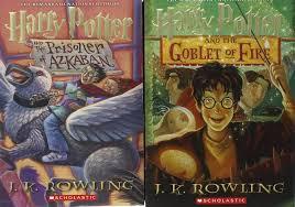 harry potter paperback box books 1 7 english kids books