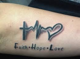 faith hope love tattoo by madlen arm tattoo unsere tattoos