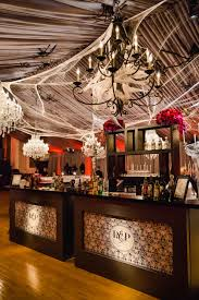 a chic and sophisticated halloween themed wedding inside weddings
