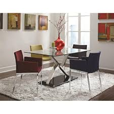 Homebase Chairs Dining Furniture Wonderful Modern Design Red And White Fabric Red