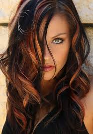 shades of high lights and low lights on layered shaggy medium length happy hour 26 photos beauty style hair coloring and hair style