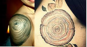 getting tree rings on my shoulder suggestions styles and general
