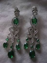 silver dangle earrings for prom pretty green tourmaline white cz silver dangle earrings wedding