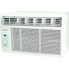 keystone 6 000 btu 115 volt window mounted air conditioner with