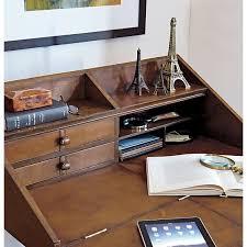 Crate And Barrel Office Desk Emerson Secretary In Desks Crate And Barrel Home Offices