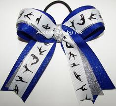 ribbon for hair that says gymnastics 73 best gymnastics bows images on pinterest gymnastics