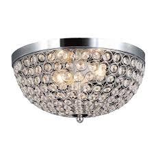 elegant designs elipse 13 in 2 light chrome and crystal