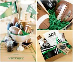 football centerpieces host a football party the tomkat studio