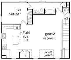 1 Bedroom House Floor Plans Home Design 81 Excellent House Plans With Open Floor Plans